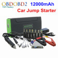 Universal 12000mAh Car Battery Jump Starter 12V With Multi-Function Auto EPS Emergency Start Power and Mobile Charge