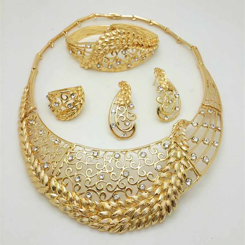 Zuodi Nigerian Wedding Jewelry Fashion African Beads