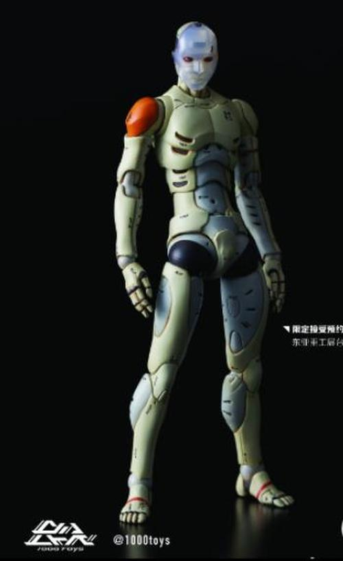 1000Toys 1/12 Synthetic Human Action Figure Body Battle Damaged Ver In Box Model