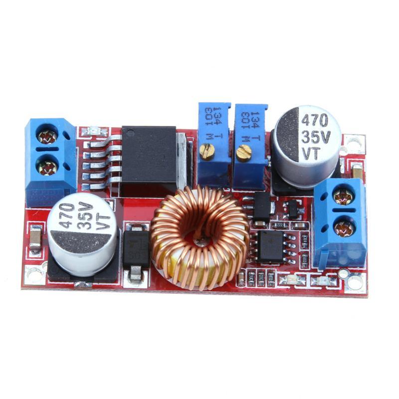 5A constant current LED driver module 5v-32v to 0.8v-30v battery charging constant voltage DC-DC power module
