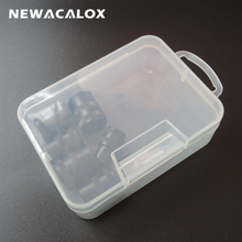 Mini PP Transparent Electronic Plastic Parts Box for Tool SMD SMT Screw Sewing Fish Hook Component Storage Toolbox