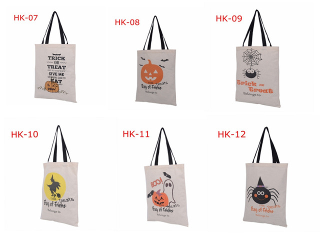 Mango Halloween Con Calabaza Unids Bolsas Negro Tipos 100 De 6 Mano Navidad xFUC7wwqg