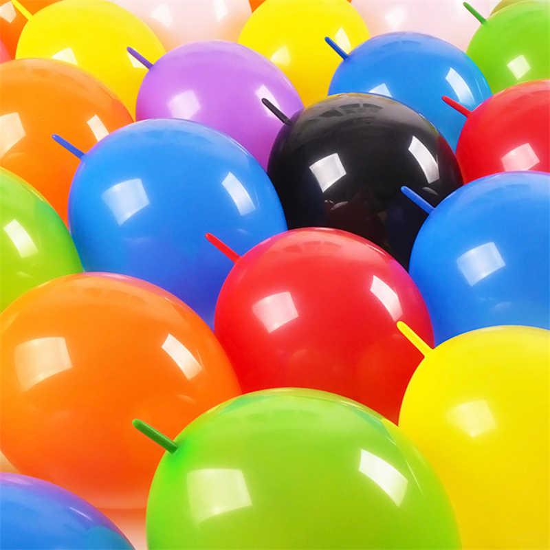 10 sztuk 12 Cal igły ogon, balony, ślub, strona dekoracji dmuchana piłka wszystkiego najlepszego z okazji urodzin dostawy lateksowe różowe balony