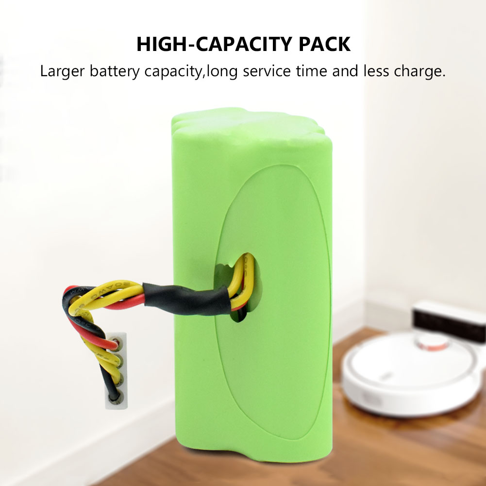 7.2 v 4500 mah batterie au lithium pack 4 pcs 18650 li-ion batterie 4500 mah pour 7.2 v balayeuse batterie aspirateur led