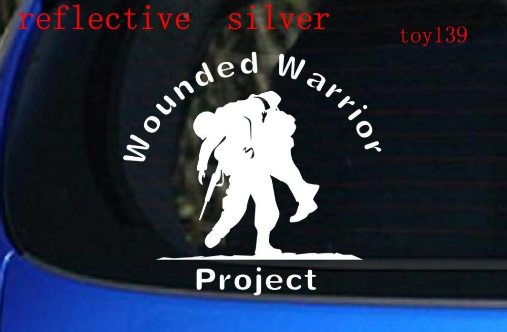 Wounded Warrior Project Car Window Decal Vinyl Sticker