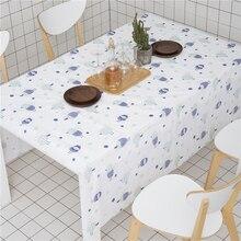 SKTEZO Modern Simplicity PEVA Waterproof Home Tablecloth manteles para mesa rectangulares en tela  table cloth coffe