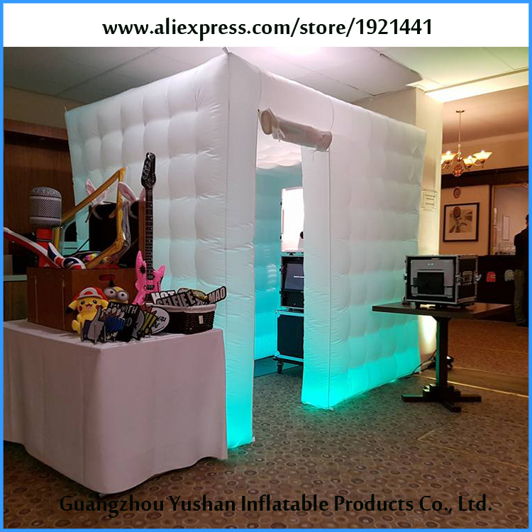 2.5m*1.8m*2.25m LED Inflatable Photo Booth Enclosure For Sale-in ...
