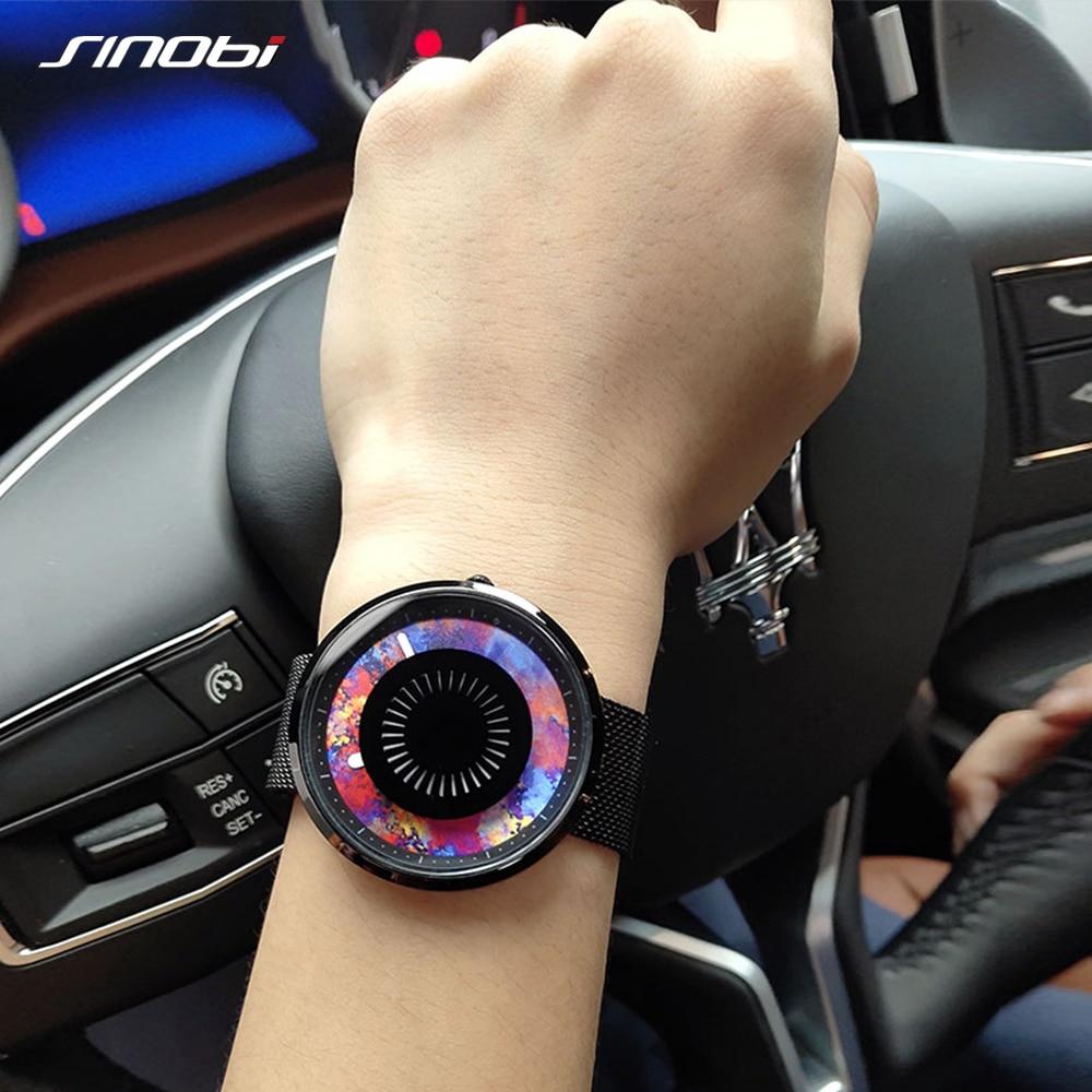 Sinobi Luxury Women Watches Fashion Stainless Steel Unisex Wrist Watch Ladies Clock Relojes Mujer Creative Women Quartz Watch