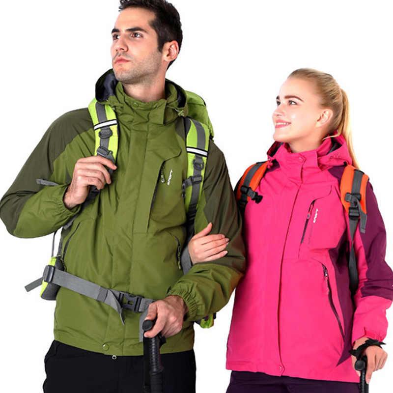 8d2540f58f42 ... Зимняя Лыжная куртка для мужчин и женщин, одежда для пар, непромокаемое  дождевик, спортивная ...