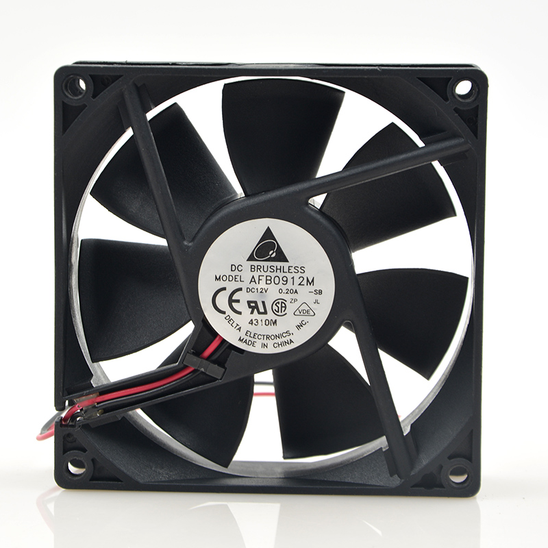 New original KDE2408PTB3-6 8025 24V 2.4W 8cm inverter fan 2 lines