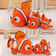 2017 Movie Finding Dory Big Size 25cm 40cm 70cm Clownfish Nemo or Dory Stuffed Plush Toy 1pcs Children Gift Free Shipping