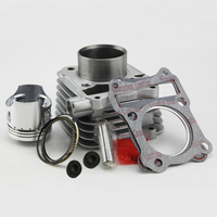 Free Shipping 57mm Cylinder Piston Set Gasket All Sets For Suzuki GS125 GN125 HJ125 A 125CC