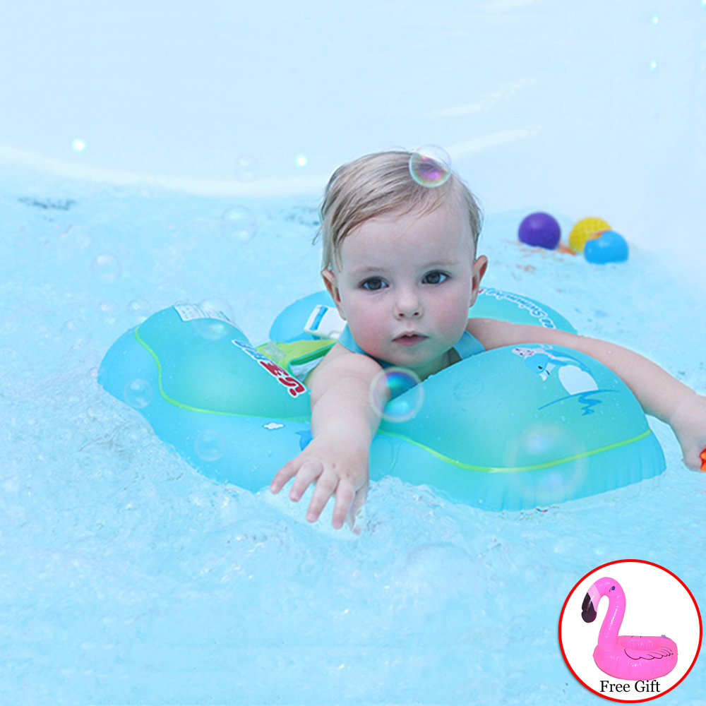 Superior quality Baby Inflatable Swimming Rin Newborns Bathing Circle Inflatable Wheel for Swimming Pool Summer Toys Safety Buoy
