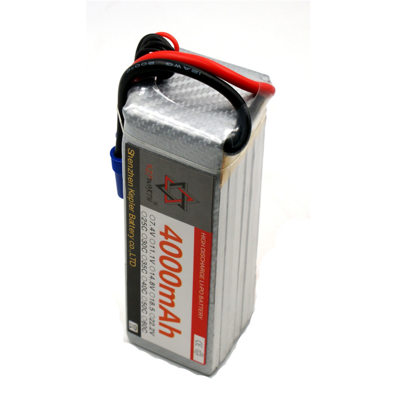 RC <font><b>Lipo</b></font> Battery <font><b>6s</b></font> 22.2v <font><b>4000mAh</b></font> Car Plane Boat Lithium Ion Polymer Battery For Truck Tank Drone Helicopter image