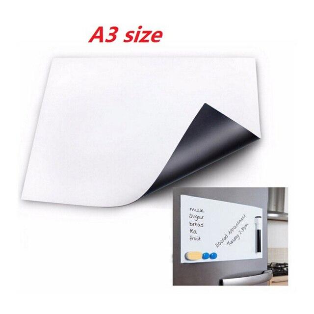 1 pc 30x42 cm accueil taille flexible tableau blanc magnétique
