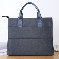 Document Bag Portable A4 Multi layer Canvas Zipper Filling Product High capacity Office Men Women Business Briefcase File Folder