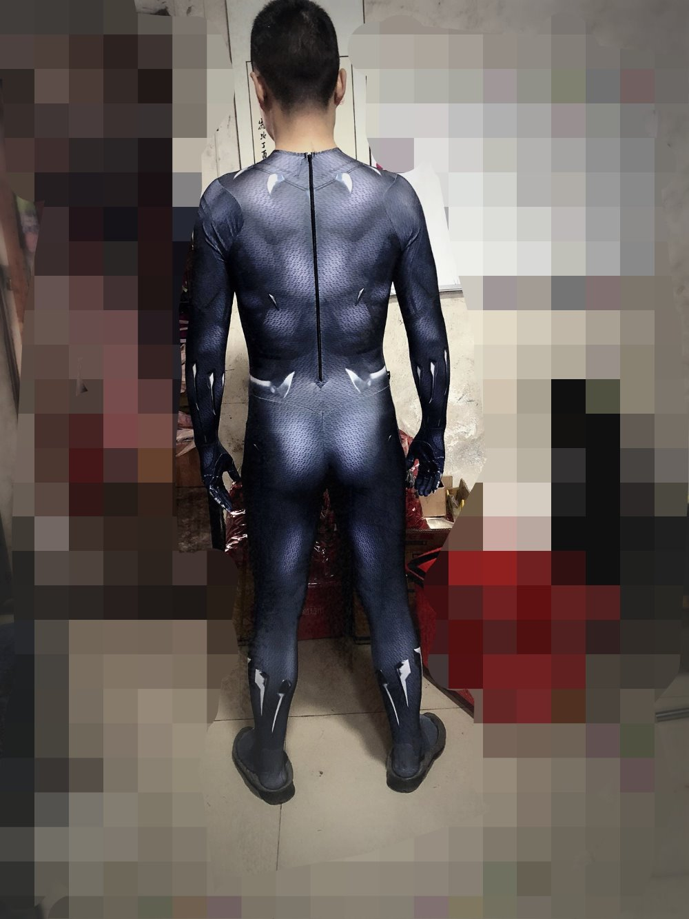 Black Panther Costumes Kids Men Halloween Costume Captain America Civil War Movie Marvel Black Panther cosplay SuperHero Suit | .wishlists.tk : black panther marvel halloween costume  - Germanpascual.Com