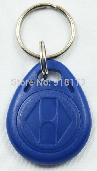 100pcs/lot 125Khz RFID Proximity tag Keyfob token Access Control Rfid key fob Blue turck proximity switch bi2 g12sk an6x