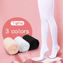 Дети обувь для девочек балетные трико для детей и взрослых нейлон леггинсы женщин Гимнастика танец детские колготки 80D 3 пары