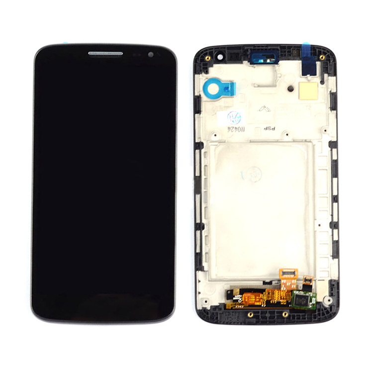 ФОТО Black LCD Touch Screen Digtizer Lens Assembly+Frame Replacement High Quality For LG G2 Mini D620 D618 D621 D625