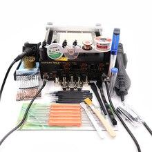 Gordak863anti-static три в одном combinationpreheatingstationfull цифровой дисплей BGA паяльная станция 12*12 см нагревательная пластина