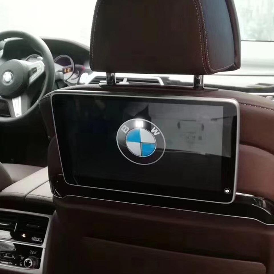 11.6 Inch Car DVD Screen 1920X1080 4K HD Android 7.1 Head Rest Monitor For <font><b>BMW</b></font> <font><b>G30</b></font> <font><b>530i</b></font> Rear Entertainment System Auto TV Screen image