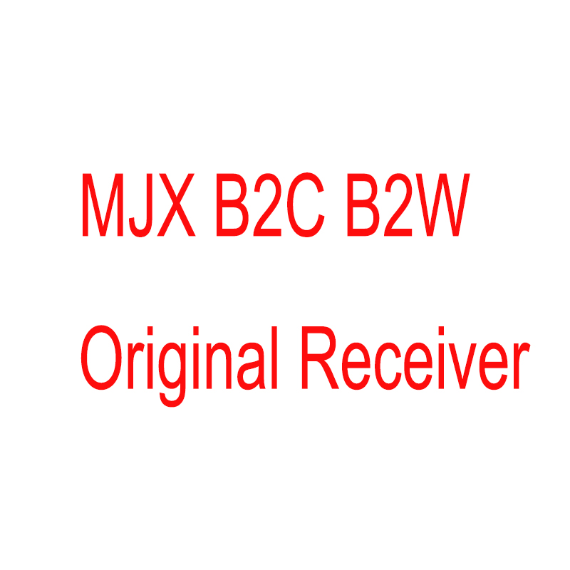 цена 100% Original New MJX B2C/B2W RC Brushless GPS Drone 4CH Receiver PCB Circuit Main Board Quadcopter Spare Parts Accessories