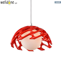 Resin and Glass nordic Lamp LED Pendent Light For Dinning Living Room similify and art decoration