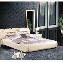 Горячие продажи нового продукта мебель кожаная кровать