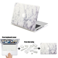 For Funda Macbook Pro 13 Case Hard Matte Marble Painting PC Sleeve Cover For Mac Pro