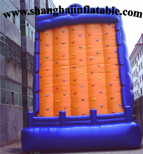 Factory direct selling climbing wall Children  inflatable climbing wall
