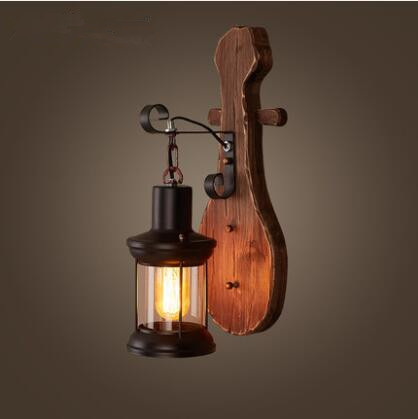 IWHD Nordic Loft LED Wall Lamp Creative Vintage Industrial Wall Light Retro Bedside Sconce Fixtures For Home Lighting Luminaire modern lamp trophy wall lamp wall lamp bed lighting bedside wall lamp