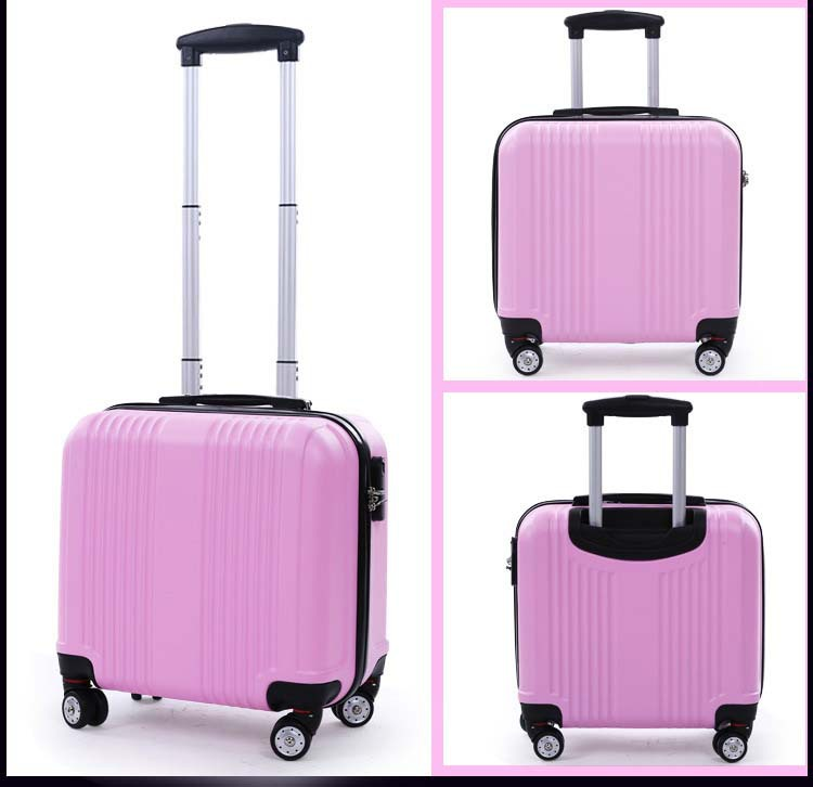 Aliexpress.com : Buy 16 Inch, Spinner wheel, ABS, Travel Suitcase ...