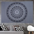Elephant Square beach towels Indian Tapestry Wall Hanging Hippie Elephant Mandala Bedspread Ethnic Throw Art Multifunction