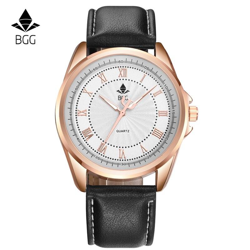 Alta calidad Nuevo 2016 Business cuarzo reloj hombres deporte reloj militar hombres PU correa de cuero ejército reloj de pulsera masculino ocasional hora del reloj