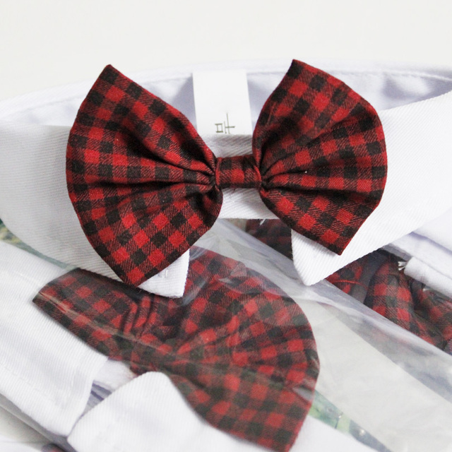 Hot Sales Pet Supplies Red Colors Cats Dog Tie Wedding Accessories Dogs Bowtie Collar Holiday Decoration Christmas Grooming
