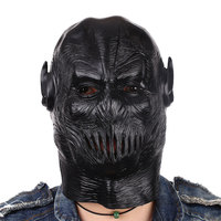 Halloween Mask Flash Zoom Movie Figures Cosplay Full Head Airsoft Mask Helmet Prank Scary Mask Mascaras