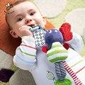 Elefante música Brinquedos Do Bebê Brinquedos Do Bebê Brinquedos Educativos Chocalho Mordedor Infantil Plush Móvel Espuma Carro Pendurado Chocalhos Berço Carrinho De Criança