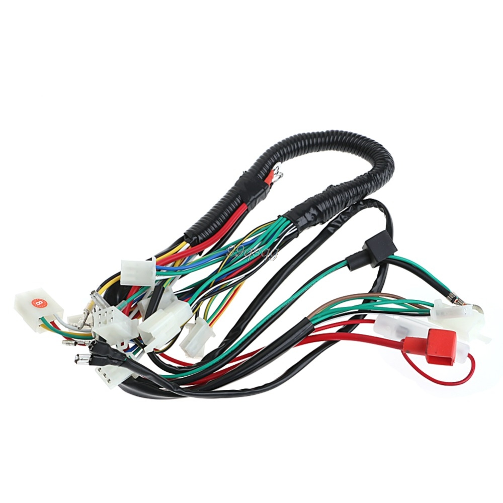 50 70 90 110cc Cdi Wire Harness Assembly Wiring Set Atv Electric Quad Coolster Drop Shipping In Motorcycle Starter From Automobiles Motorcycles On