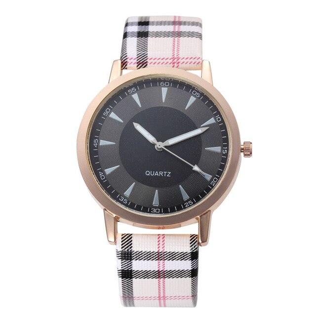 Fashion High Quality Leather Strap Watch Men Women Atmos Sports Quartz WristWatc