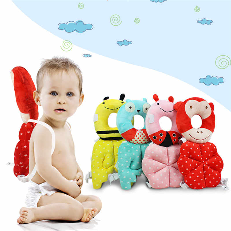 Bebé de dibujos animados de animales de la protección de los niños de almohada Niño, almohada de bebé Anti-caída almohada para el cuidado del bebé