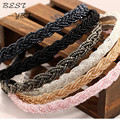 Девушки мода горный хрусталь кристалл сеад бусины кос Hairbands повязки обруч для волос аксессуары для женщин взрослых