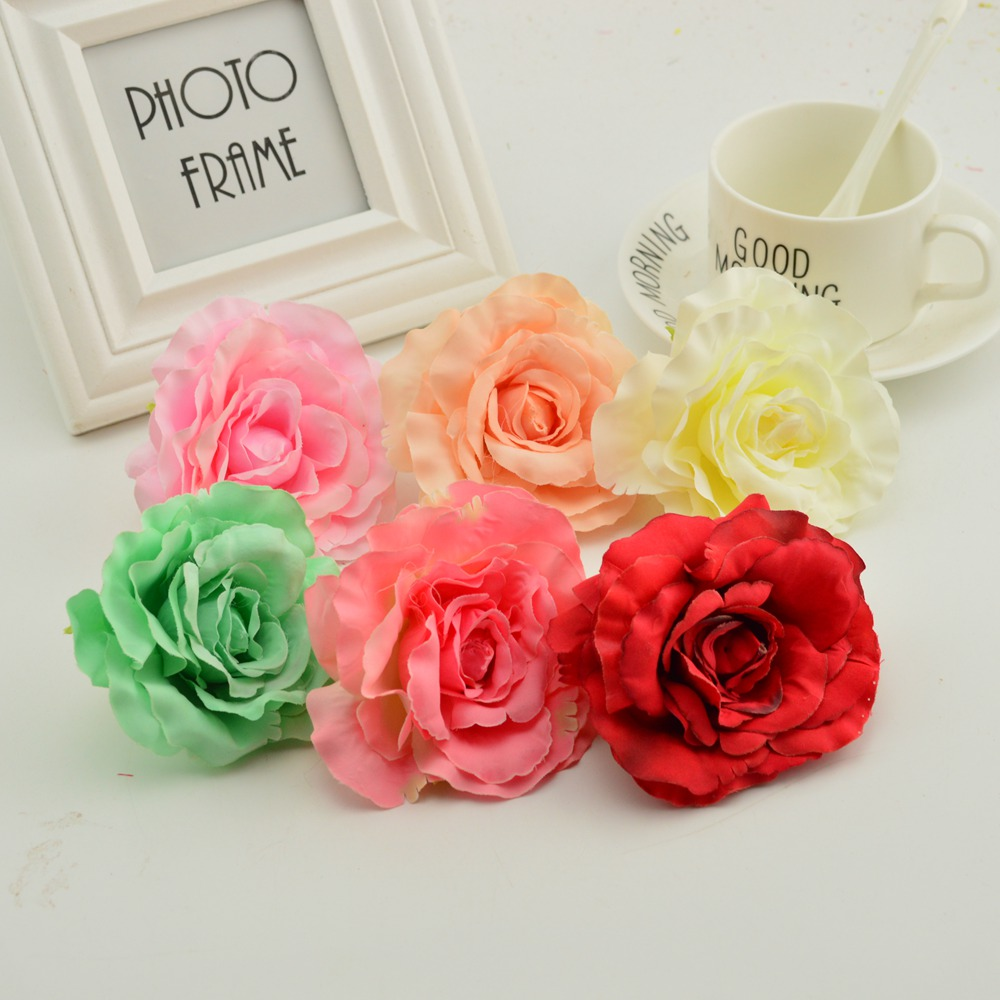 Hot Sale 8cm Cheap Artificial Flowers For Party Wedding Garden
