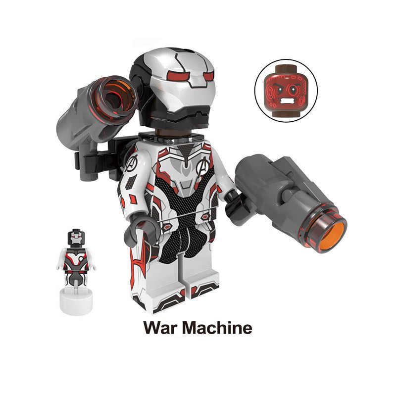 35pcs Avenger Endgame Captain America Marvel Iron Man Thanos Deadpool Hulk Mini Figure Building Block Toy compatible with lego