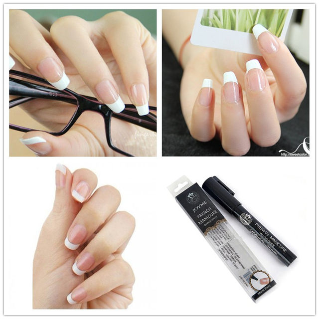 Online Shop Hot High Quality French Nail Art Pen Manicure Pedicure ...