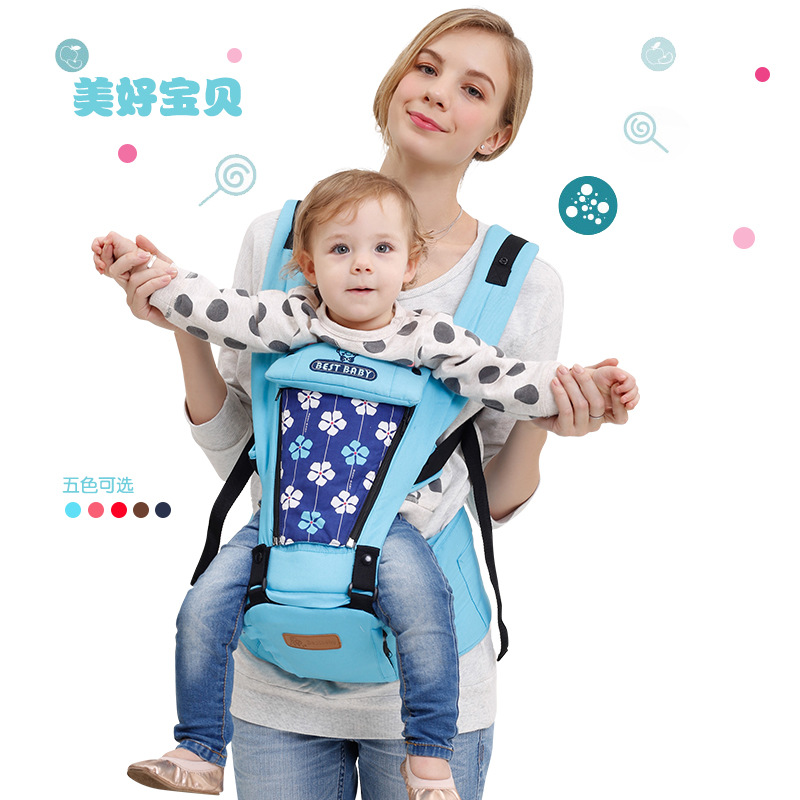 Baby carrier baby sling high quality Toddler Breathable Floral Cotton Backpack Infant 4 Seasons Wrap Slings 0-36Months 2016 four position 360 baby carrier multifunction breathable infant carrier backpack kid carriage toddler sling wrap suspenders