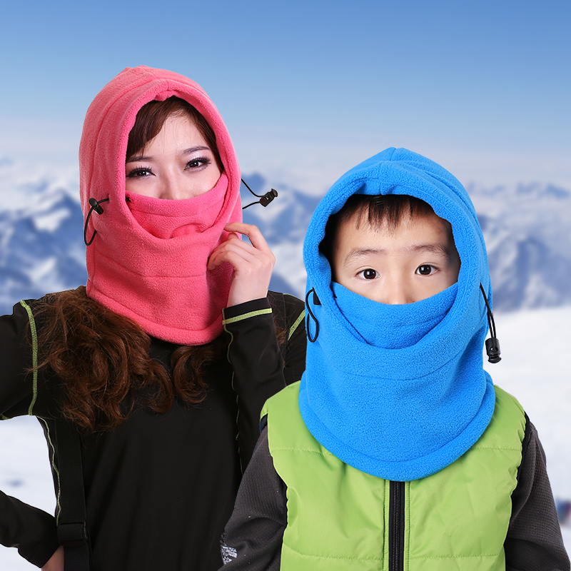 Men Women Kids Windproof Ski Scarf Winter Bike Motorcycle Neck Warm Helmet Face Mask Thermal Fleece Balaclava Skullies Hat Adult winter outdoor warm motorcycle wind proof face mask neck helmet beanies cap bicycle thermal flannel balaclava hat for men women