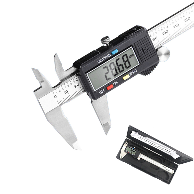Electronic Stainless Steel Calipers Digital Vernier Caliper 0-150mm 0.01mm Micrometer Paquimetro Messschieber LCD Measuring Tool