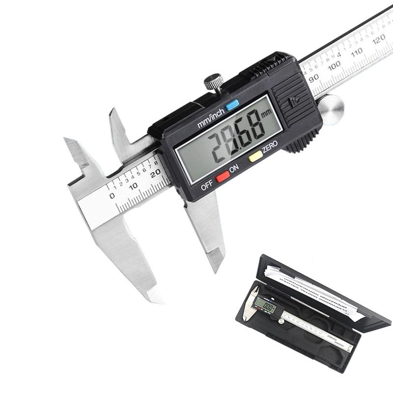 Elektronische Edelstahl Messschieber Digital Messschieber 0-150mm 0,01mm Mikrometer Paquimetro Messschieber LCD Messung Werkzeug