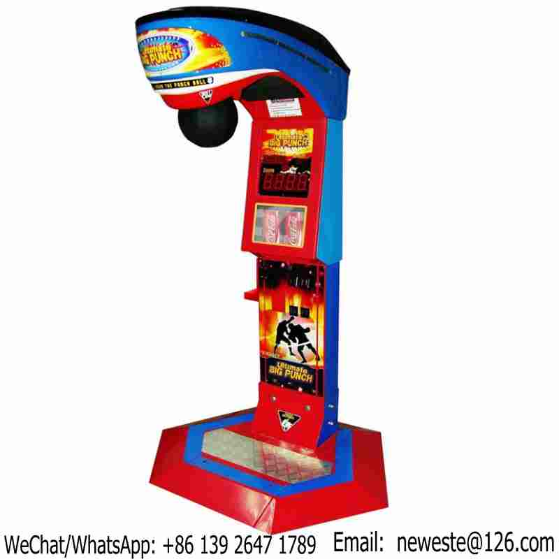 Hot Selling Amusement Equipment Redemption Tickets Arcade Machine Coin Operated Boxing Punch Game MachineHot Selling Amusement Equipment Redemption Tickets Arcade Machine Coin Operated Boxing Punch Game Machine